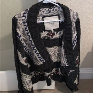 Abercrombie & Fitch Knit Open Cardigan